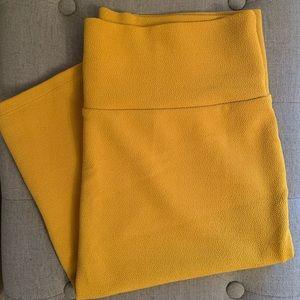 LuLaRoe Cassie Skirt-mustard